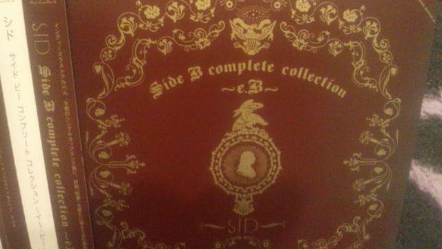 激レア!☆シド/SideBcomplete collection☆初回盤A/CD+DVD超美品!  < タレントグッズの