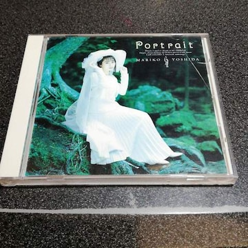 CD「吉田真里子/ポルトレ~肖像」89年盤 80年代アイドル