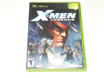 xbox★X-MEN LEGENDS 海外版