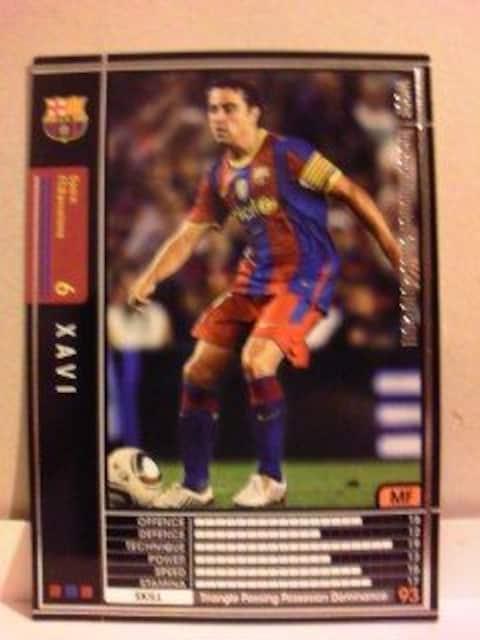 WCCF非売品SP[1011シャビ]FCバルセロナ スペイン即決・数値93  < トレーディングカードの
