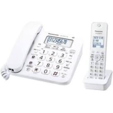 ホワイト サイズ子機1台付き パナソニック デジタルコードレス