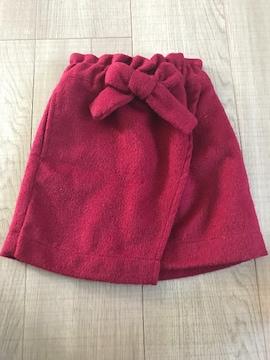 petitmain新品未使用スカート90女の子リボン