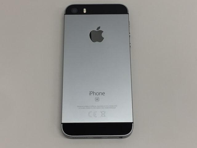Apple iPhone SE 32GB スペースグレイ MP822J/A SoftBank < 家電/AVの