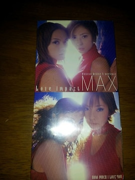 MAX↑ラブインパクト〇CDシングル美品♪Howmuchloveyou◇