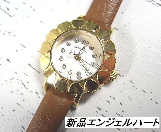本物未使用エンジェルハート腕時計MA23Y スワロフスキーエレメンツ腕時計mb3  < ブランドの