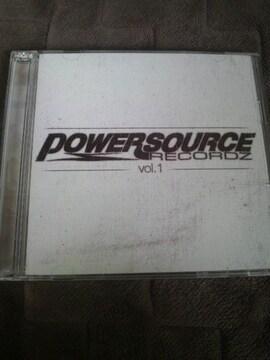 POWERSOURCE vol.1と2!!HYENA〓Mr.Low-D〓DESTINO〓BIG RON〓