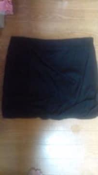 ザ・ファースト購入シワ加工デザインスカート