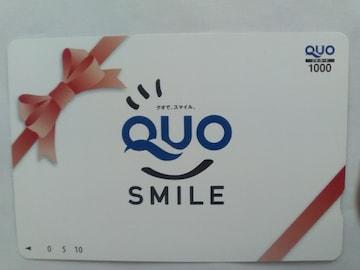 QUO¥1000円カード新品 クオカード
