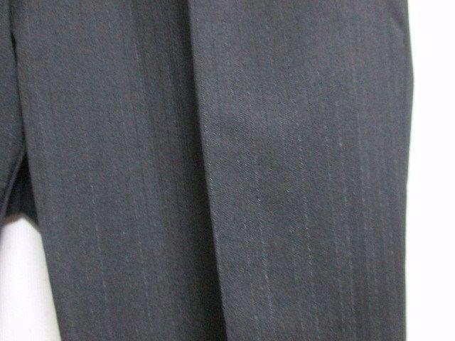 ☆COMME CA ISM コムサイズム ストライプ柄 セットアップ スーツ/メンズ/S☆黒 < ブランドの
