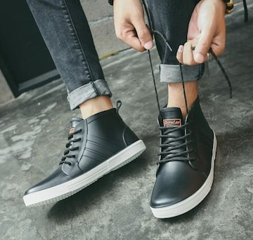 メンズ レインブーツ レインシューズ  雨靴25cm〜27cm/AK371