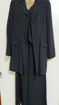 ミッシェルクランMK三点セットのスカートスーツ★40