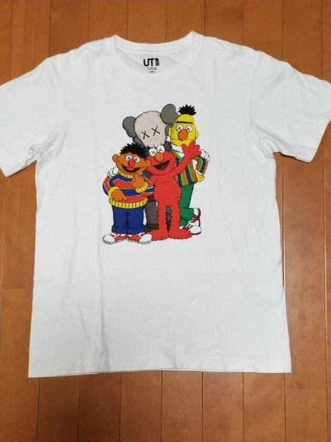 KAWS×SESAME STREETコラボTシャツ  < ブランドの
