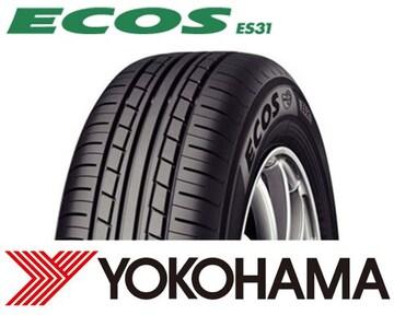 ★155/65R13 緊急入荷★ヨコハマ ECOS ES31 新品タイヤ 4本セット