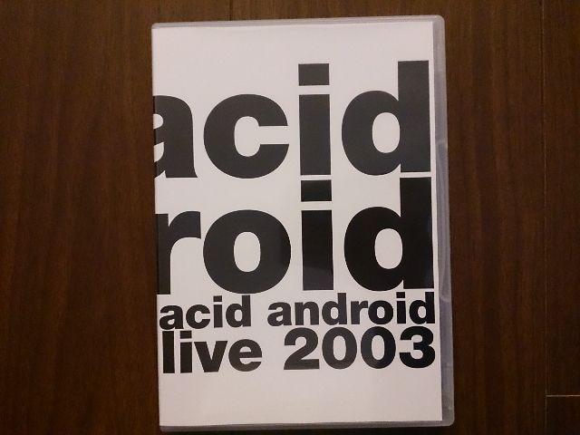 acid android「live 2003」DVD/L'Arc-en-Ciel  < タレントグッズの