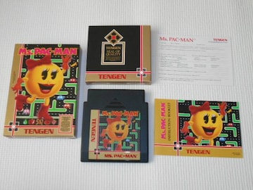 FC★MS.PAC-MAN NES 海外版(国内本体動作不可)