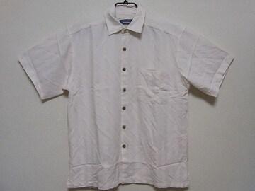 即決USA古着●PREMIERデザイン半袖シャツ!アメカジ・ヴィンテージ