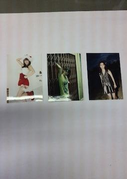 新品☆元AKB48大島優子ちゃん♪L版写真3枚