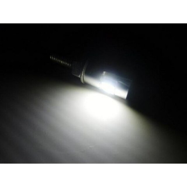 送料無料!激安!ナンバー灯に!バイク用LED内蔵ボルト/銀 < 自動車/バイク