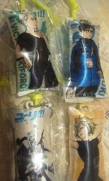ユーリ!!! YURI ON ICE スティッククッションストラップ 4種類セット 9センチ