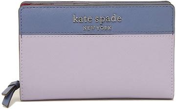 ケイト・スペード WLRU6019-555 ファスナー折財布 レディース