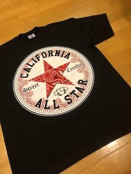 LA直輸入  CALIFORNIA All-Star 黒 大きい  sizeXL 厚手 U1