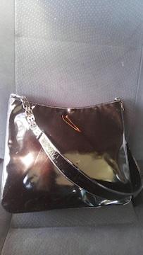 BALLY 黒エナメルバッグ 多少傷あります 正規品