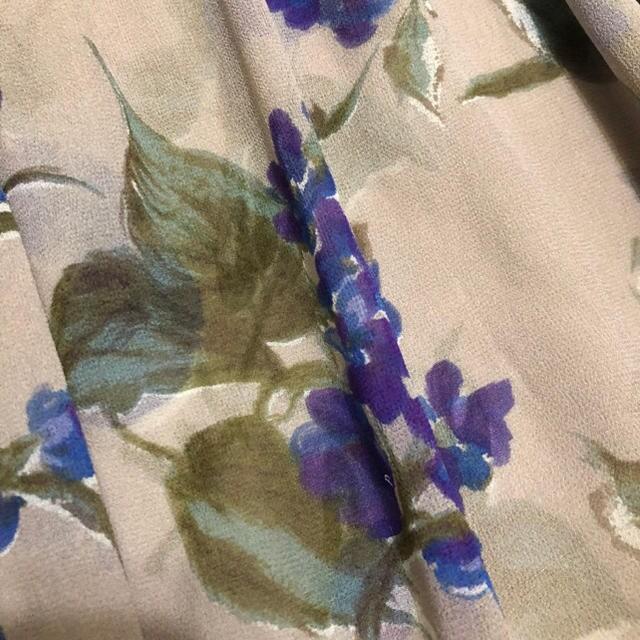 グレースコンチネンタル 花柄シフォンチュニックワンピース < ブランドの