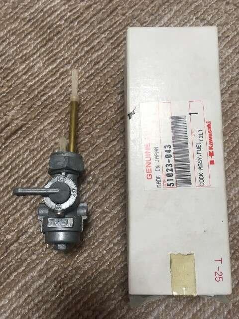 Z1Z2 Z750RS  純正新品フューエルコック < 自動車/バイク