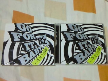 CD+DVD B'z GO FOR IT,BABY -キオクの山脈- 初回限定盤