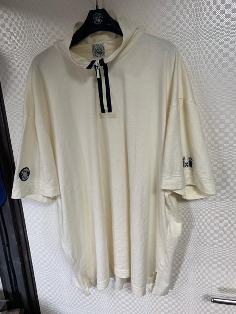 シナコバ 半袖ハーフジップポロシャツ4 L  < 男性ファッションの