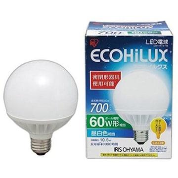 人気急上昇! LEDボール球E26口金 60W形相当 昼白色