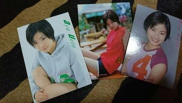 上戸彩 トレカ 3枚