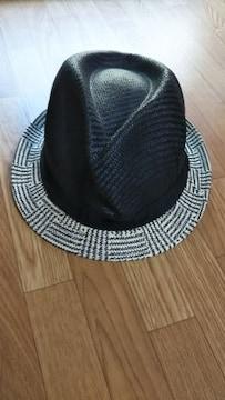 ☆ハット/帽子 白黒 58�a★