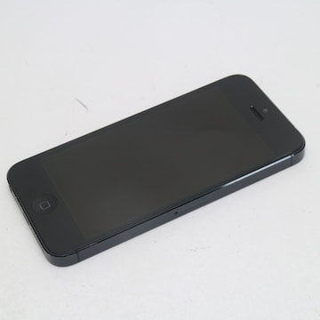 ●安心保証●判定○●美品●iPhone5 32GB ブラック●白ロム