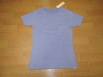 新品リベリオンrebellionカットソー4紫スウェット調TシャツAKM