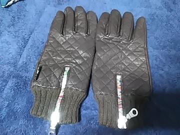 BEAMSのデザインジップ手袋送料無料