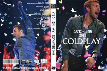 COLDPLAY ROCK AM RING 2011 コールドプレイ