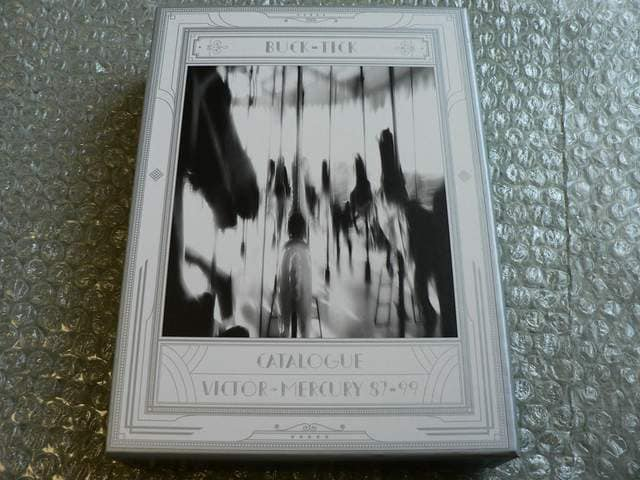 BUCK-TICK【CATALOGUE VICTOR→MERCURY 87-99】初回盤/3CD+DVD  < タレントグッズの
