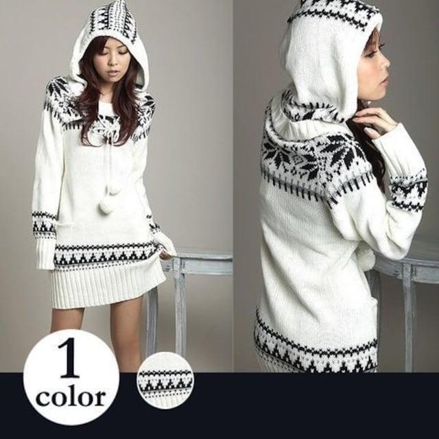 Y022即決 新品 ワンピース 白 L セシル イング ザラ マウジー エモダ 好きに  < 女性ファッションの