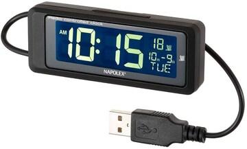 ナポレックス 車用 電波時計