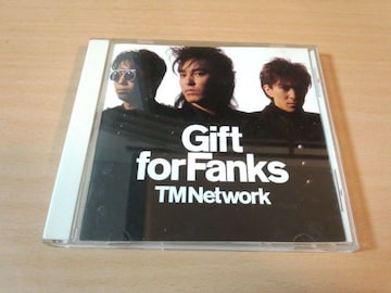 TM NETWORK CD「GIFT FOR FANKS」TMN 小室哲哉●