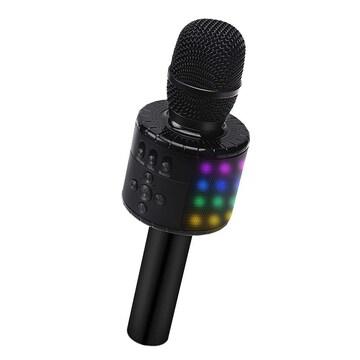 Bluetooth カラオケマイク ブラック