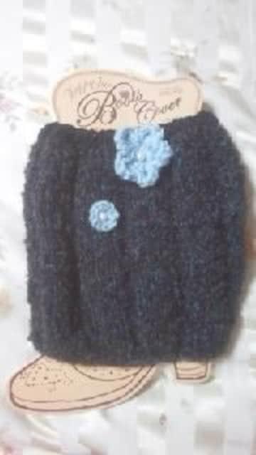 119 送込 大きいサイズ〓手編みレッグウォーマー  < 女性ファッションの