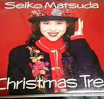 クリスマスCD 松田聖子 Christmas Tree 帯無し 紙ジャケット