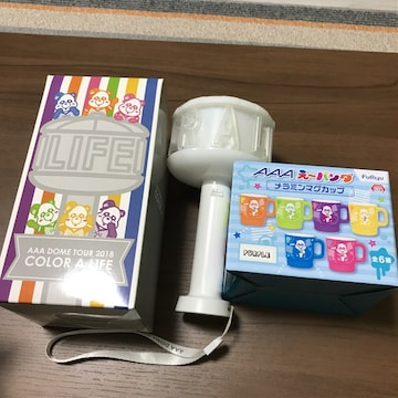 AAAパンダ新品メラミンマグカップ2018colorペンライト西島隆弘