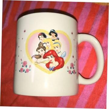 #新品未使用#ディズニープリンセスマグカップ