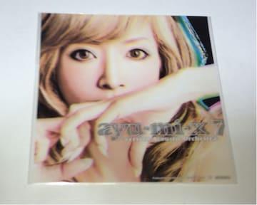 ★浜崎あゆみ ayu-mi-x 7 ステッカー(B)★