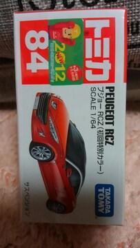 トミカ 旧84 プジョーRCZ 初回特別カラー レッド 未開封 新品 限定品