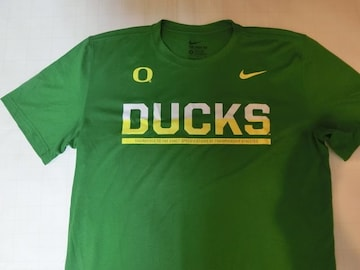 ナイキ【DRI FIT】 【OREGON DUCKS】【DUCKS】ロゴT US L