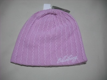 wb357 女 BILLABONG ビラボン ニット帽 ビーニー